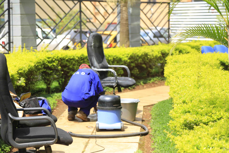 Chair Scrubbing